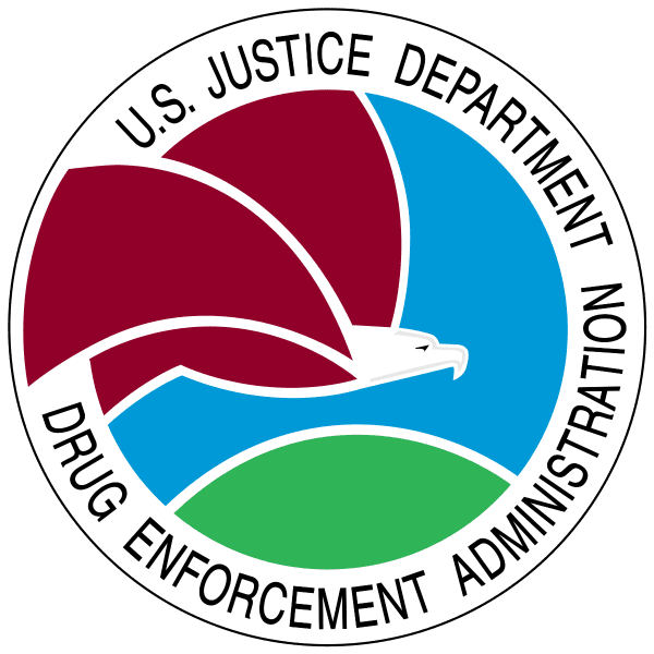 Seal of the United States Drug Enforcement Administration
